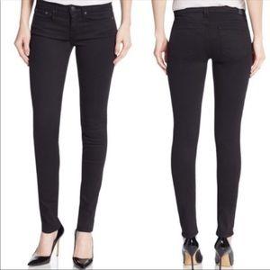 Vince Black Dylan Skinny Jeans Size 25